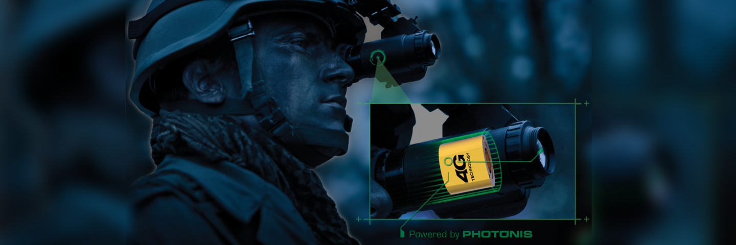 Image Intensifier Tube 4G for night vision