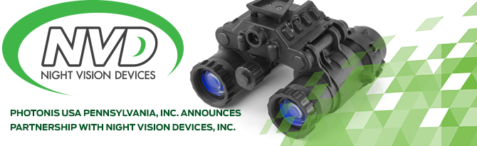 NVD Night Vision Devices, Pennsylvania, USA